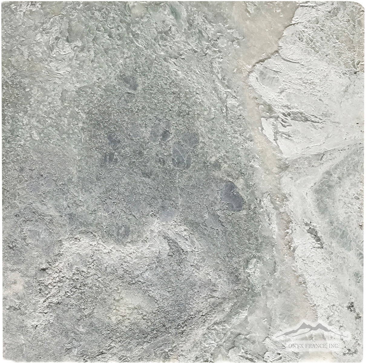 "Ming Green Marble 12"" x 12"": Tumbled or Brushed (Inquire)"