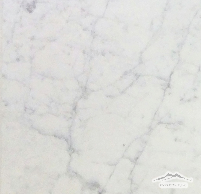 "White Carrara Venatino (PREMIUM) Marble 12"" x 12"" Polished"