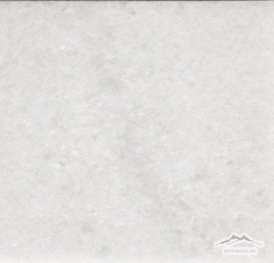 "White Crystalline Marble 12"" x 12"" Tile Polished"
