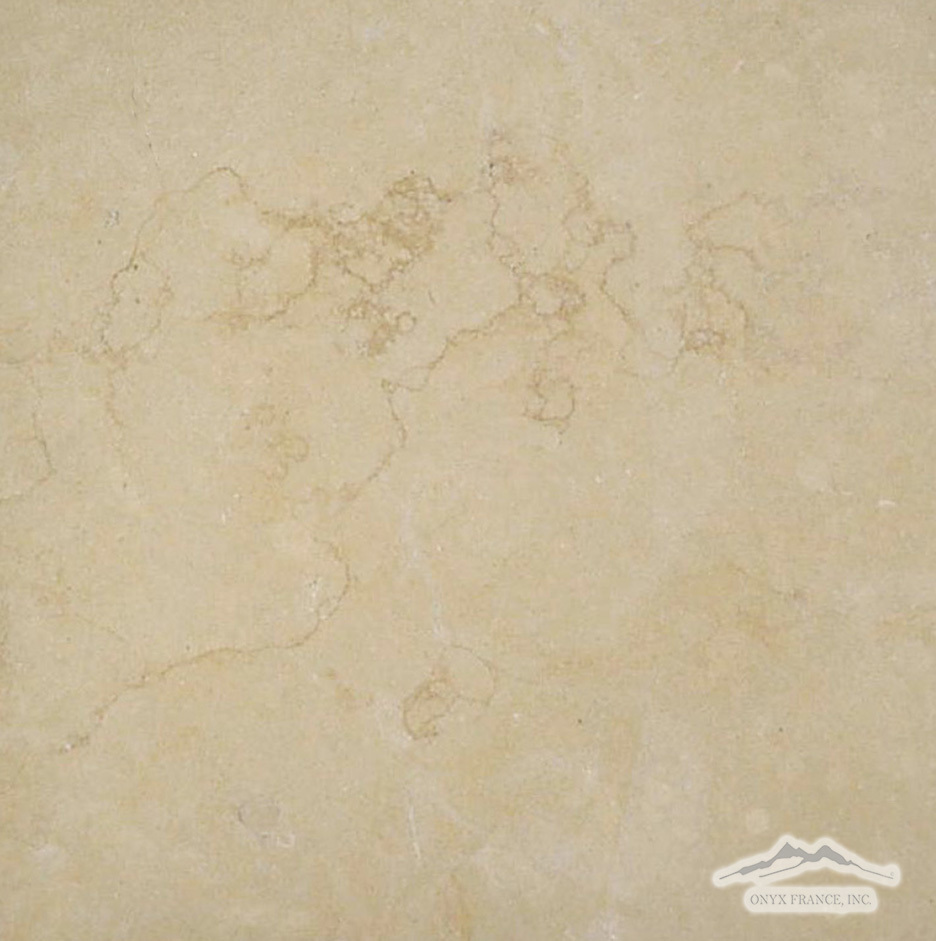 "Giallo Elena Limestone 12"" x 12"" Tile Honed"