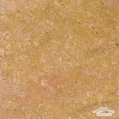 "Gold Pompeii Limestone 12"" x 12"" Tile Honed"