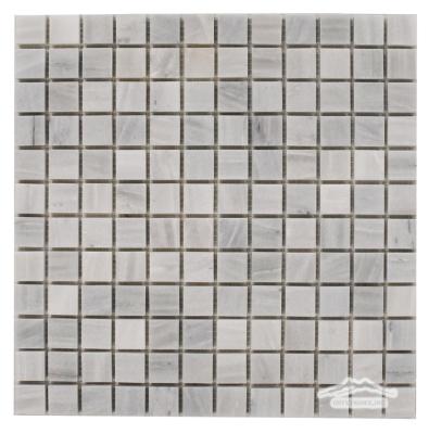 "Greige Elegant Marble 1"" x 1"" Mosaic Honed"