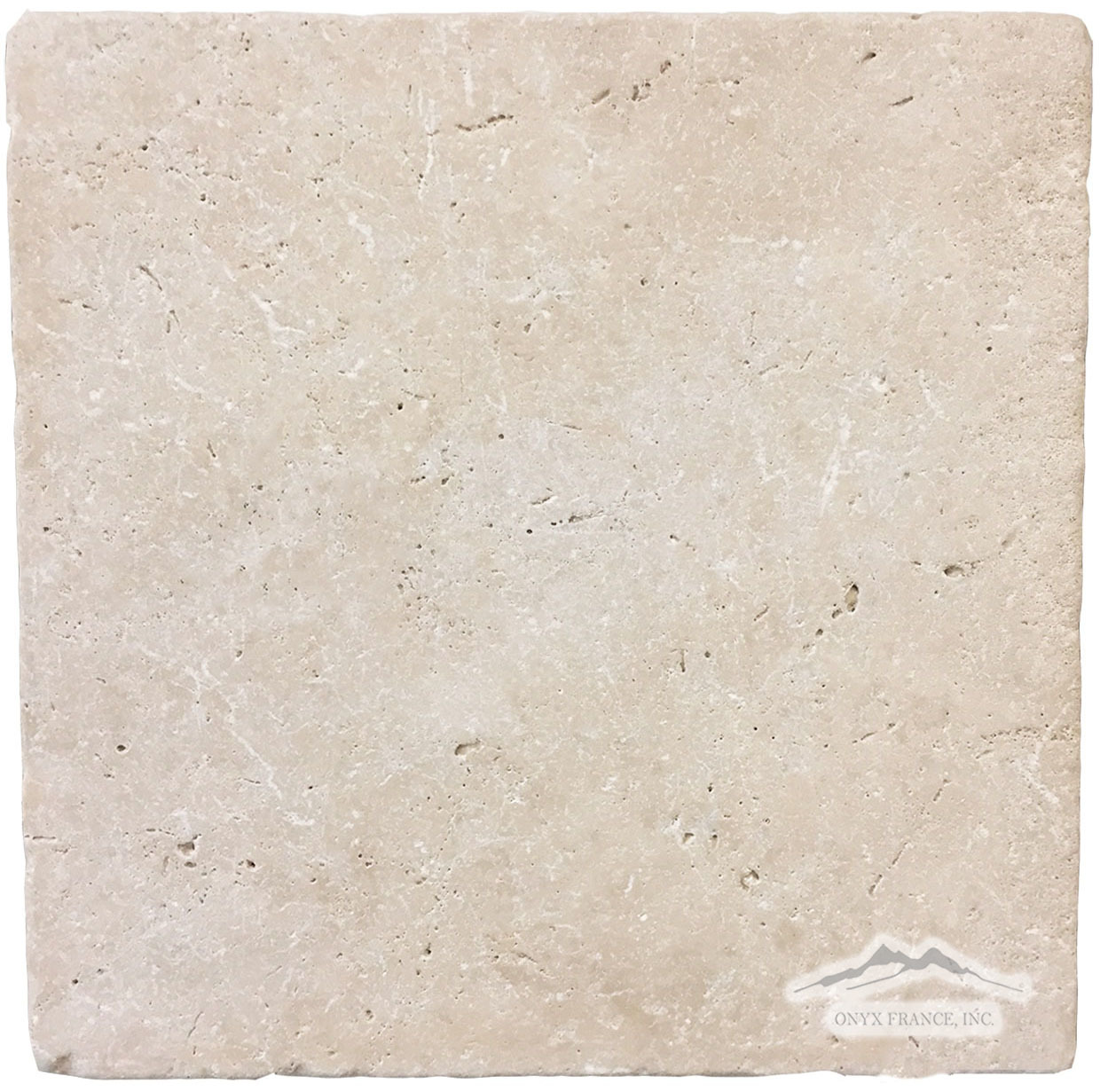 "Durango Travertine 12"" x 12"" Tumbled"