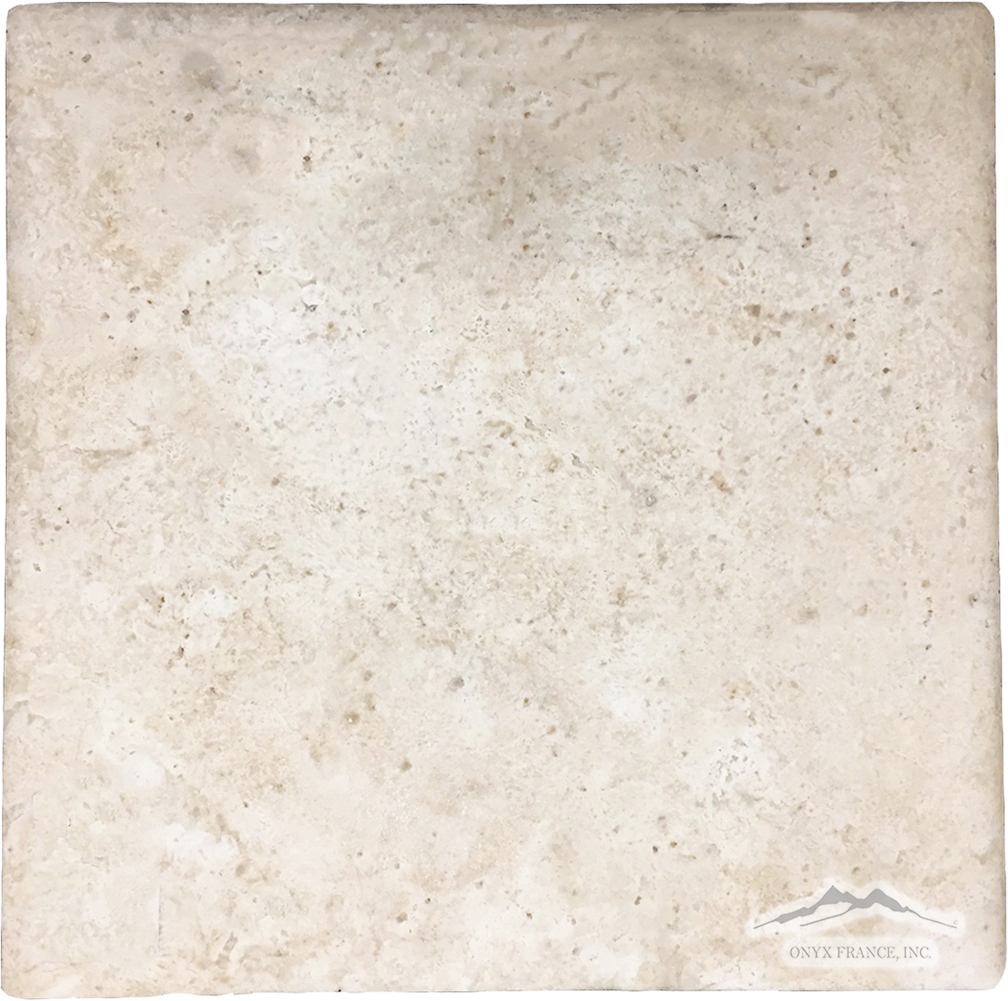 "Durango Travertine 16"" x 16"" Pillowed"
