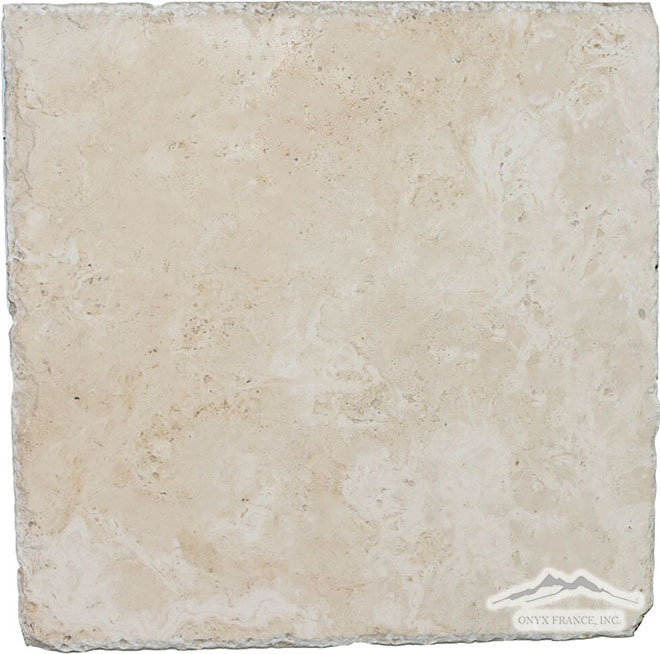 "Durango Travertine 16"" x 16"" Cobblestone"