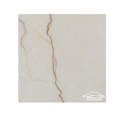 "Cream Elegant Marble 6"" x 6"" Tile Honed"