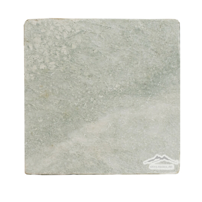 "Ming Green Marble 6"" x 6"" Tile Tumbled"