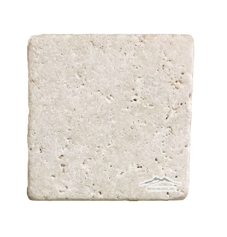"Durango Travertine 6"" x 6"" Tile Tumbled"