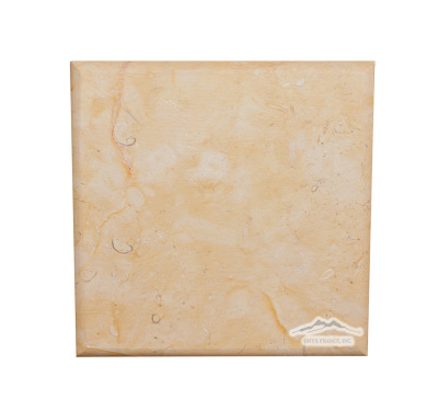 "Renaissance Bronze Limestone 6"" x 6"" Pillowed Tile"