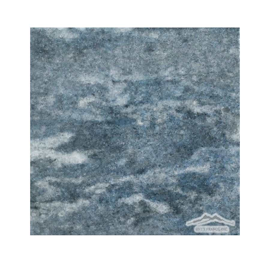 "Blue Ocean (Azul Del Mar) Quartzite 6"" x 6"" Polished"