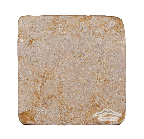 "Sr Marc Juane (Fontaney Juane) Limestone 8"" x 8"" Tumbled"