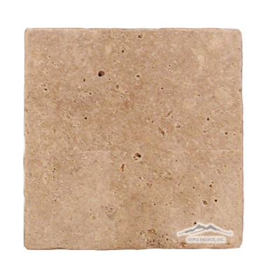 "Noce Travertine 8"" x 8"" Tumbled"