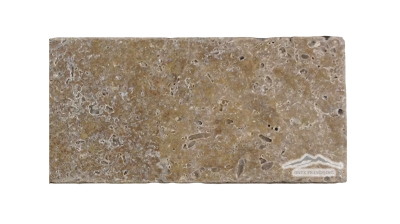 "Noce Travertine 4"" x 8"" Tumbled"