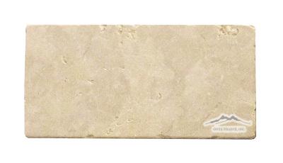 "Jerusalem Gold Limestone 4"" x 8"" Tumbled"