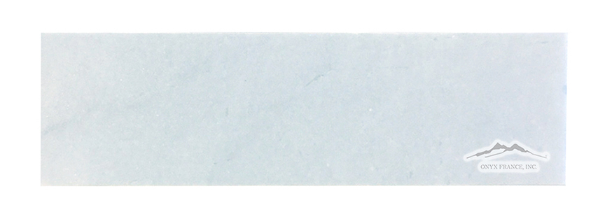 "Blue Bliss Marble 3"" x 12"" Honed & Polished"