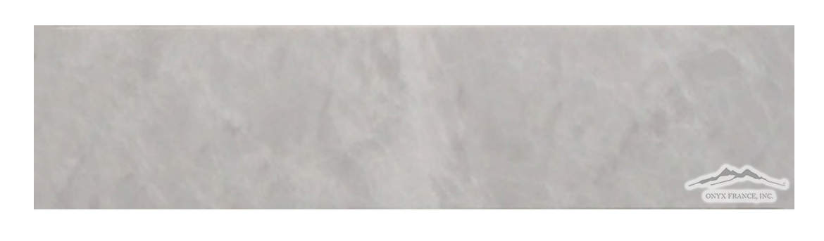 "Silver Pearl Marble 3"" x 12"" Honed"