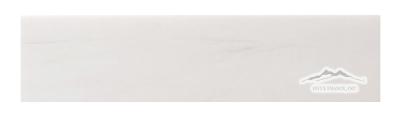 """White Elegant SELECT (Dolomite) Marble 3"""" x 12"""" Honed & Polished"""