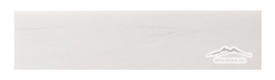 "White Elegant SELECT Marble 3"" x 12"" Tile: Polished & Honed"