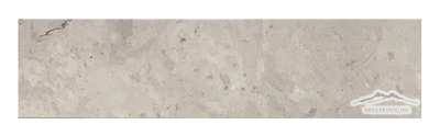 "Ash Grey (Tunisian Grey) Limestone 3"" x 12"" Honed"