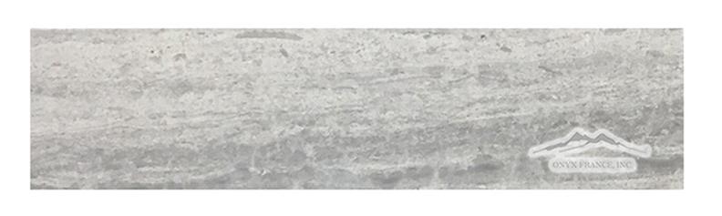 "Blue Stratta Limestone 3"" x 12"" Honed"