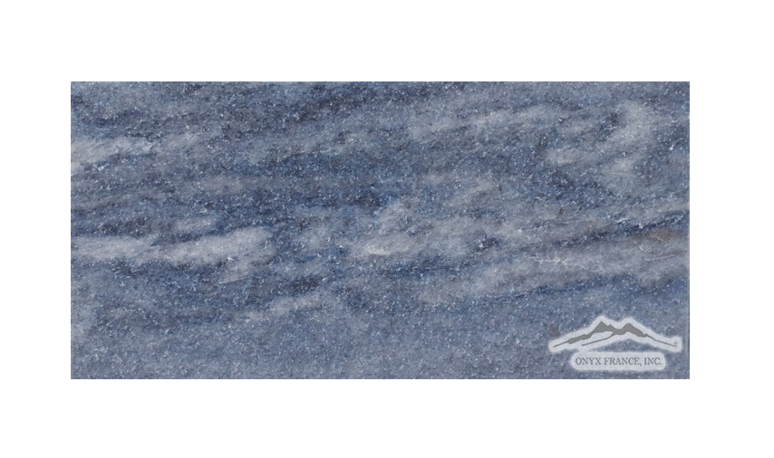 "Blue Ocean Quartzite 3"" x 6"" Polished"