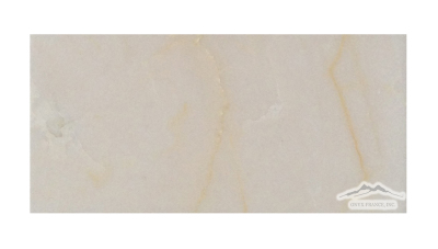 "Cream Elegant Marble 3"" x 6"" Tile Honed"