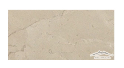 "Cream Marfil Marble 3"" x 6"" Tile Polished"