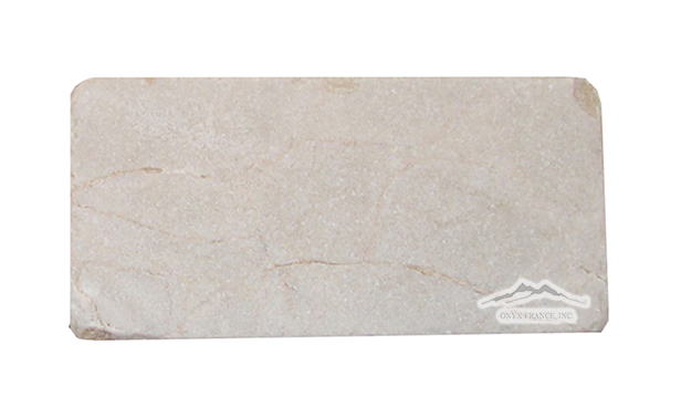 "Cream Marfil Marble 3"" x 6"" Tumbled Tile"