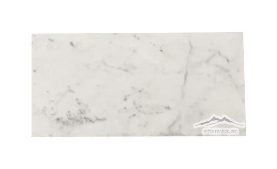 White Carrara Venatino (Premium) Marble 3n x 6n Honed