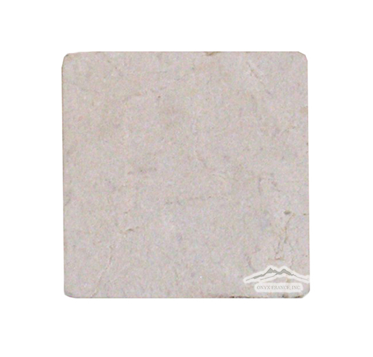 "Cream Marfil Marble 4"" x 4"" Tumbled"