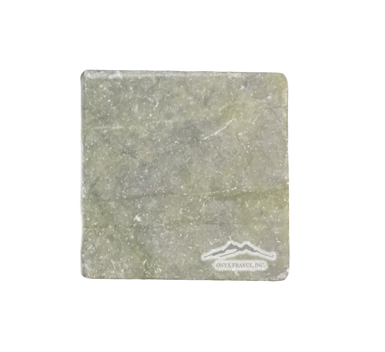 "Green Olivine Marble 4"" x 4"" Tile Tumbled"