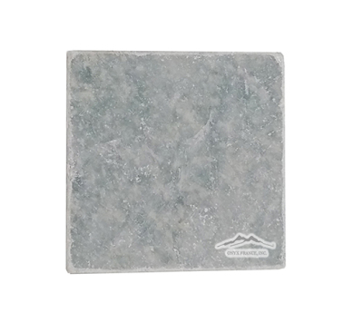 "Ming Green Marble 4"" x 4"" Tile Tumbled"