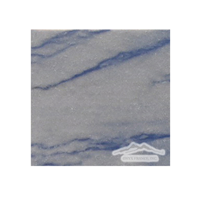 "Blue Macauba Quartzite 4"" x 4"" Polished"
