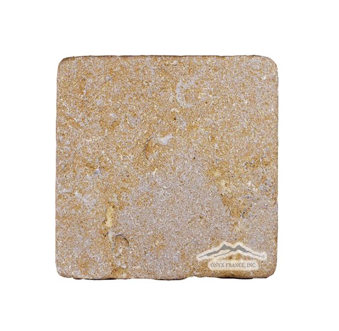 "St Marc Juane (Fontaney Juane) Limestone  4"" x 4"" Tile"
