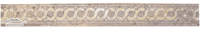 #E102 Sunstone Border, 1-1/2'' x 12'' x 3/8'' Carved (Etched)