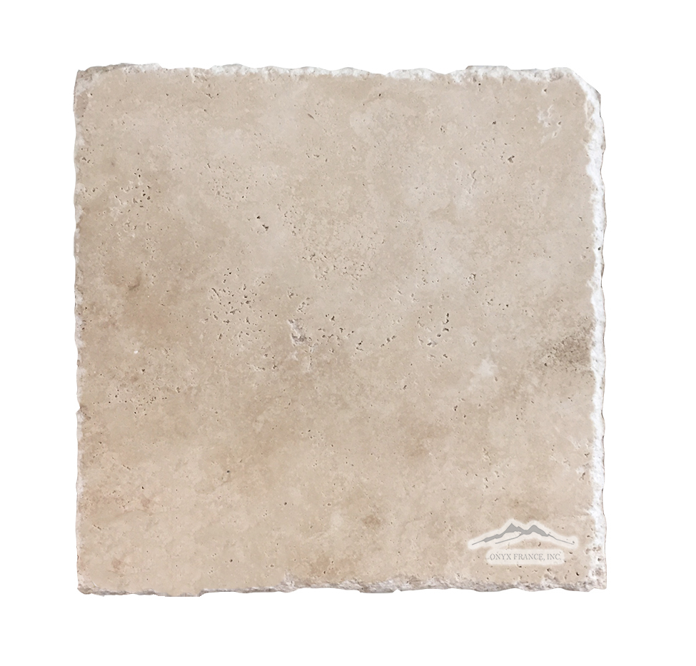 "Durango Travertine 8"" x 8"" Tile Cobbled"