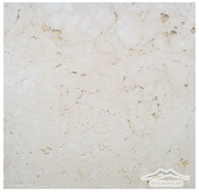 "Pearl Travertine 12"" x 12"" Tile Tumbled"