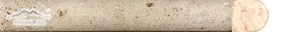 """St Marc Juane (Fontaney Juane) Limestone Bullnose 5/8"""" x 4"""" Molding"""