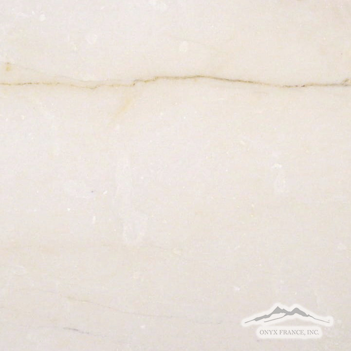"Cream Elegant Marble 16"" x 16"" Tile  Polished & Honed"