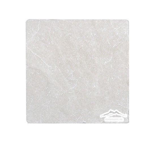 "Cream Marfil Marble 6"" x 6"" Tile Tumbled"