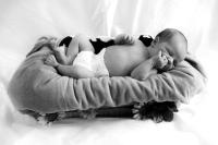 Newborn Portrait, Baby Portrait, Sleeping Baby, Newborn Photography, Baby Photography