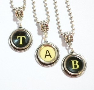 Choose Your Initial Pendant 20.00