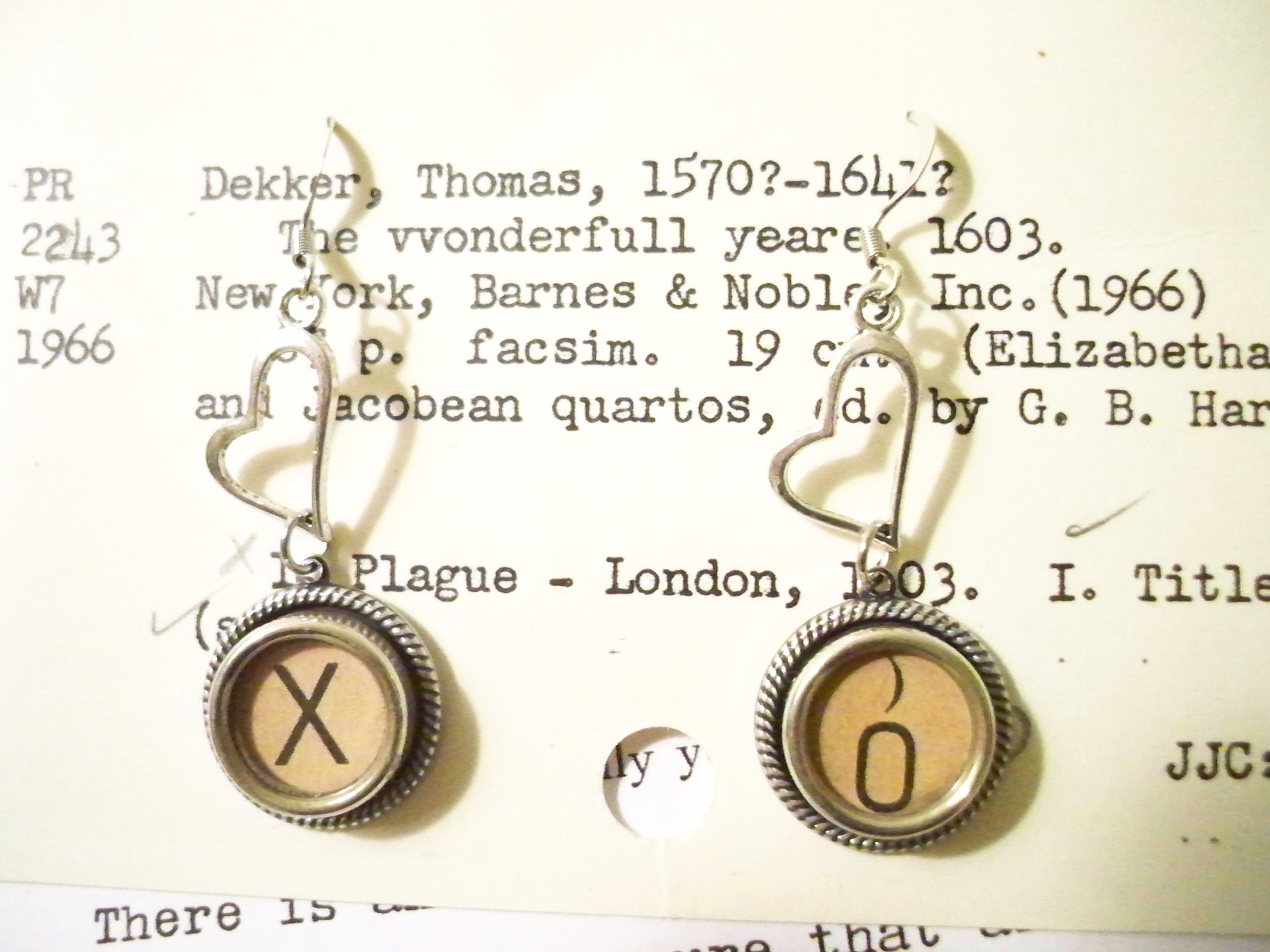 X & O Earrings