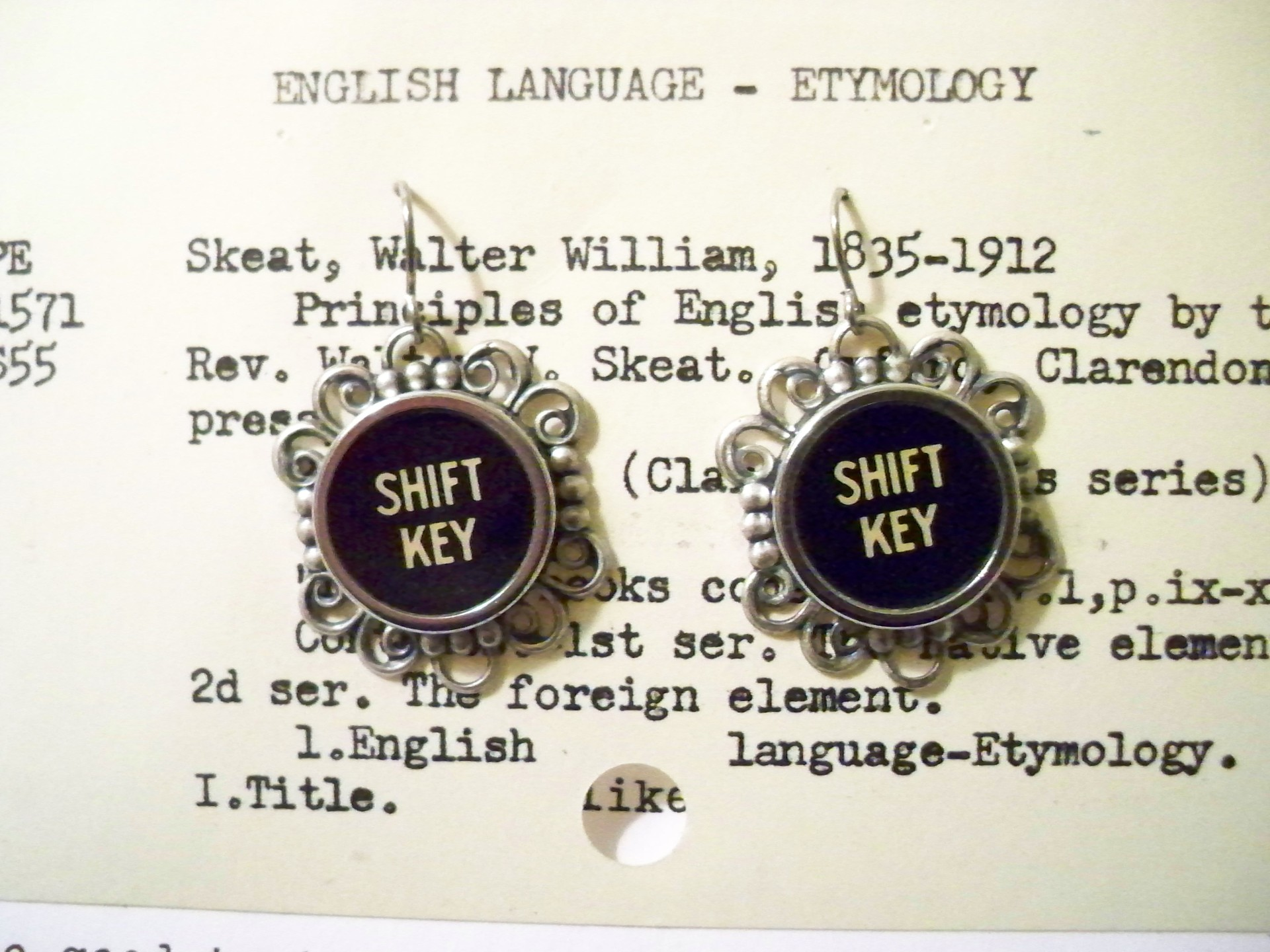 Shift Key Earrings