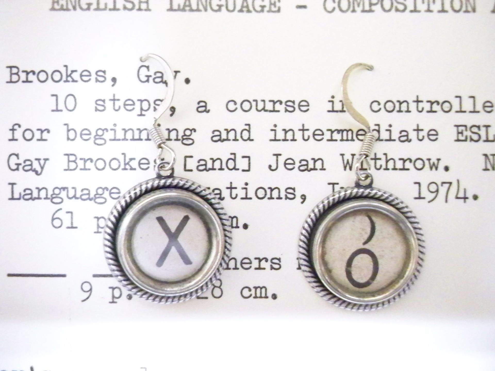 X & O Earrings