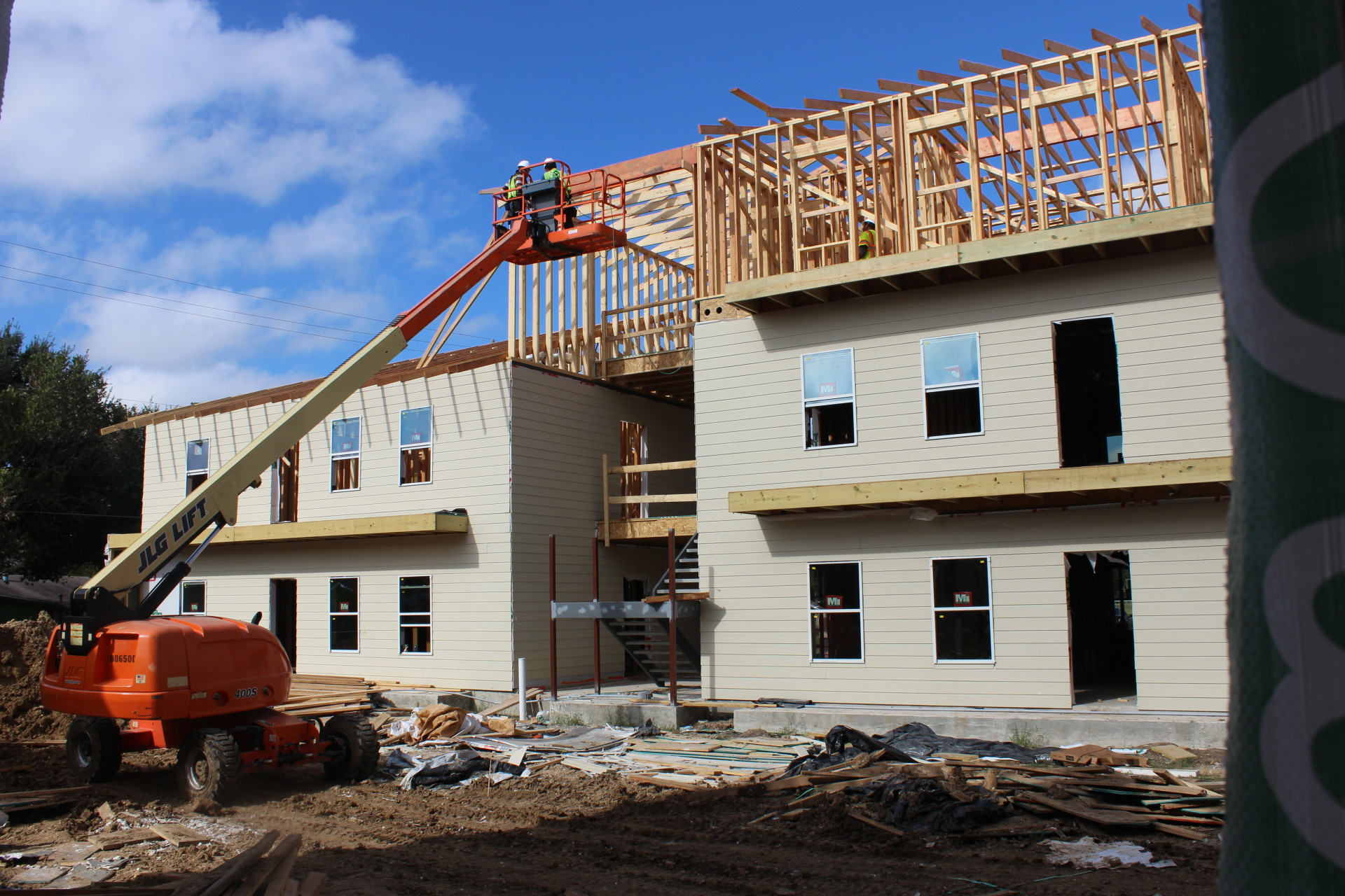 Home for Home construction bids