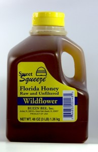 Raw Florida Wildflower Honey