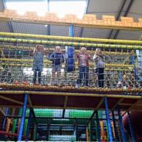Children having fun at Knights Warehouse