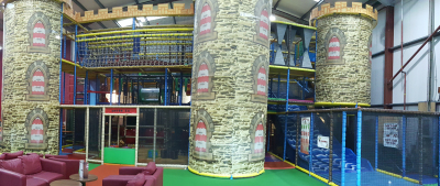 Soft Play area Knights Warehouse