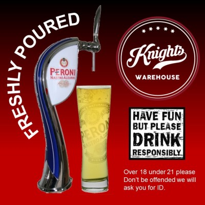 Knights Warehouse peroni